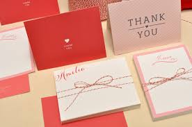 how to personalized thank you cards ideas anouk invitations