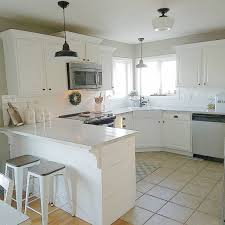 modern shabby chic kitchen sherwin williams intellectual gray kitchen interiors by color