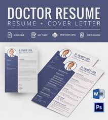 Free Resume Samples In Word Format by Doctor Resume Templates U2013 15 Free Samples Examples Format