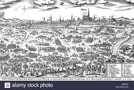 Vienna Ottoman Events Ottoman Wars Siege Of Vienna 1529 View Of The Bivouac Of