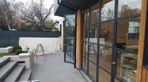 steel frame glass doors armadale residence steel frame windows