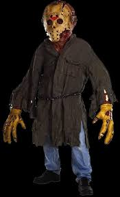 Jason Halloween Costume Jason Voorhees Huge Monster Costume With Mask Scary Halloween