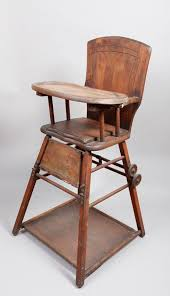 19th century convertible wood high chair high chair converts into potty chair and walker