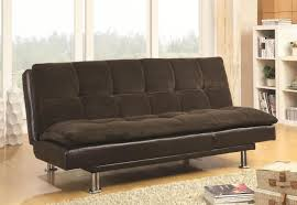 20 best collection of leather sofa beds