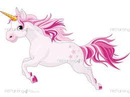 pink unicorn girls wall decals vdi1103en artpainting4you eu pink unicorn girls wall decals
