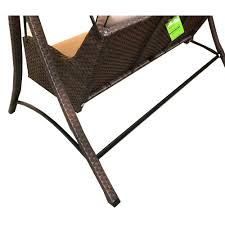 Garden Winds Replacement Swing Canopy by Replacement Canopy For Wilson Fisher Sonoma Resin Wicker Swing