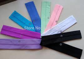 sports headbands cheap sale women s headwear solid 11 colors casual sports
