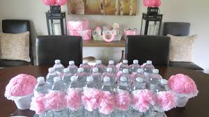 dollar store baby shower the simple craft diaries pink and grey baby shower