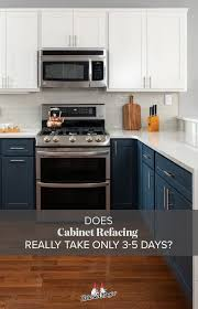 what is the best way to reface kitchen cabinets our refacing process kitchen magic cabinet refacing new