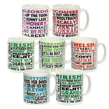 Unusual Mugs Dialect Mugs Unusual Kitchen U0026 Dining Qwerkity