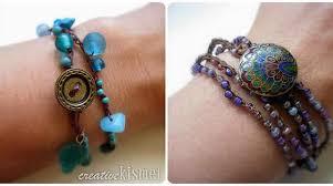 crochet bracelet with beads images How to beaded crochet bracelet make jpg