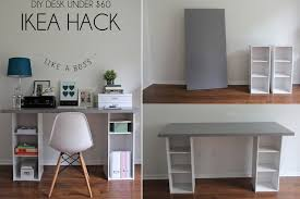 Diy Kid Desk Craft Homework Station My Their Space Craft