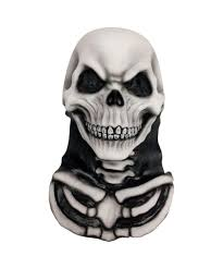 skull and bones mask men halloween costumes