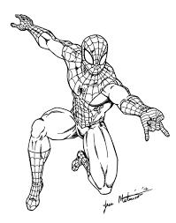 spider man comin at you by jmaturino on deviantart