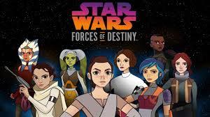 disney channel schedules new u0027star wars forces of destiny