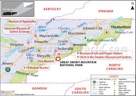 Tennessee national parks images Great smoky mountains national park usa map facts location jpg