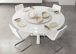 Modern Round Dining Room Tables Contemporary Round Dining Table For 8 Brucall Com