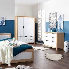 Deko F Schlafzimmer Kommode Kommode Svendborg 3 Schubladen Eiche Weiß Dänisches Bettenlager