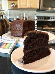 healthy aqua faba vegan chocolate birthday cake fat free whole