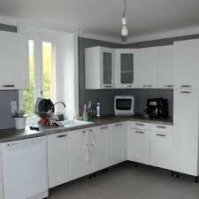 cuisine rustique blanche quelle couleur avec une cuisine blanche 1 couleur peinture mur