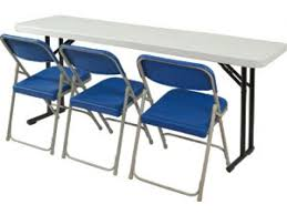 lightweight folding table and chairs lightweight folding seminar table 61 x18 folding tables