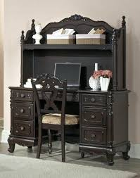 cinderella writing desk hutch and chair office desk with hutch