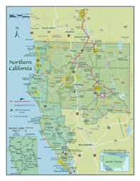 Map Southern California Southern Oregon Northern California Map By Shasta Cascade