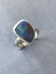 matrix opal ring sweet little australian boulder opal ring