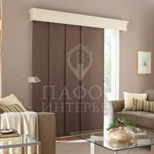 decorating wooden levolor vertical blinds plus leather chair and