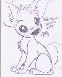 chihuahua drawing chihuahuas pinterest drawings drawing