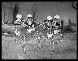 dancing halloween skeleton background the skeleton dance and the danse macabre cartooning u0026 animation