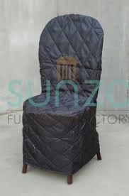 Chiavari Chair Covers Quality Black Color Protective Chair Cover For Wedding Chiavari