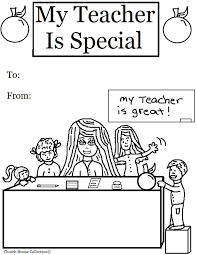 house coloring pages coloring for kids my teacher is