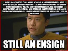 Funny Star Trek Memes - when the worlds of spaceballs and star trek voyager collide star