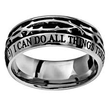 martin luther wedding ring mens christian rings cross jesus purity more free