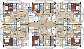 Floor Plans For Apartment Buildings by Apartment Building Plans 6 Units Image Gallery Hcpr