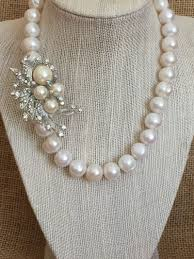 pearl necklace with crystals images Tgn pearl necklaces tgn pearls jpg