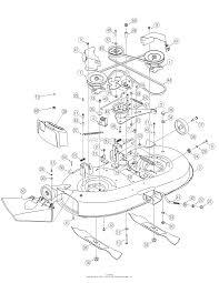 troy bilt 13ax60tg766 super bronco 2006 parts diagram for deck
