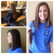 lob haircut before and after donate hair new haircut my