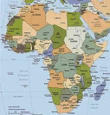 africa map countries and capitals the country capitals quiz map