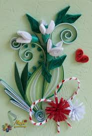 245 best quilled leaves images on pinterest filigree quilling