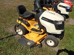 used lawn tractors