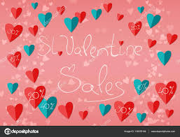 valentines sales happy valentines day sales vintage handwritten background flat d