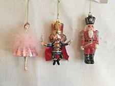 glass nutcracker ornaments ebay