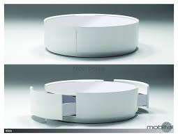 Storage Ottoman White by Coffee Table Sensational Roundee Table With Storage Images Ideas