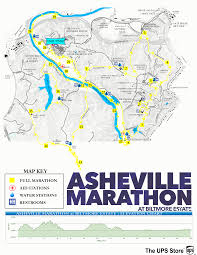 Boston Marathon Elevation Map by Full Course Description Asheville Marathon