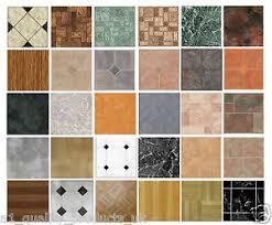Lino Floor Covering 4 X Vinyl Floor Tiles Self Adhesive Bathroom Kitchen