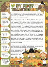 comprehension worksheets thanksgiving worksheet exle