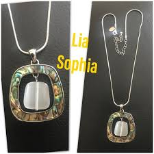 chunky necklace charms images Lia sophia jewelry chunky funky charm and necklace poshmark jpg