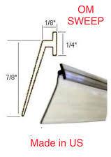 Replacement Shower Door Sweep Paragon Series Replacement Vinyl Drip Sweep Coastal Shower Doors